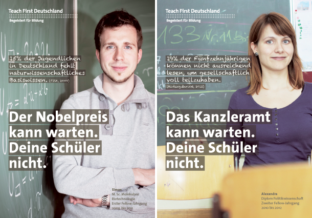 Teach First Deutschland, Kampagne 2012/13